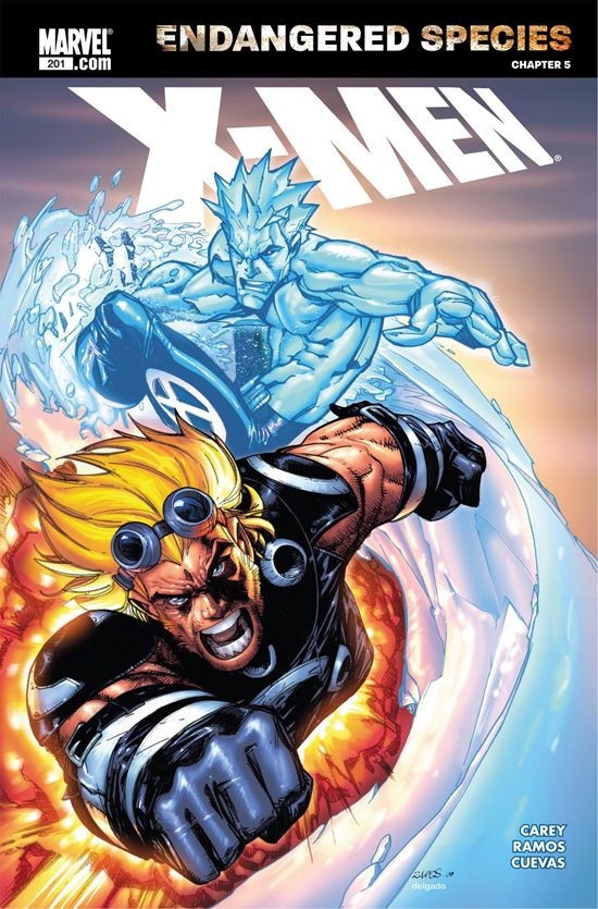 X-Men (2004) #201