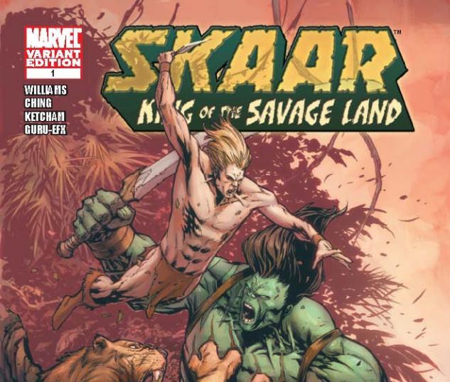 SKAAR: KING OF THE SAVAGE LAND 1 TAN VARIANT