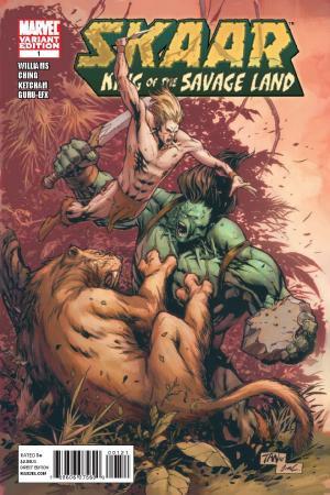 Skaar: King of the Savage Land (2011) #1 (TAN VARIANT)