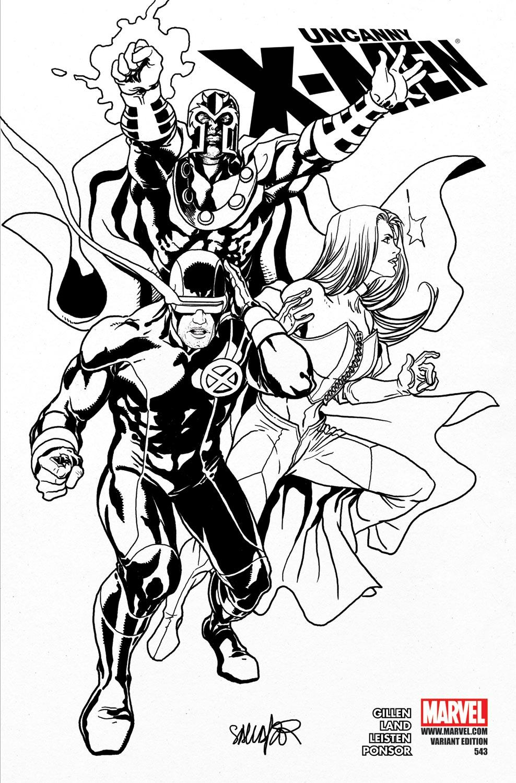 Uncanny X-Men (1963) #543 (Sketch Variant)