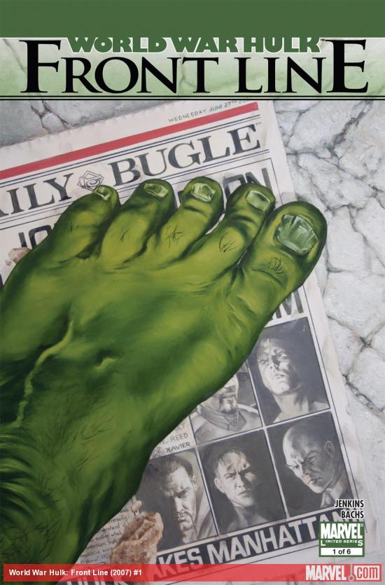 World War Hulk: Front Line (2007) #1