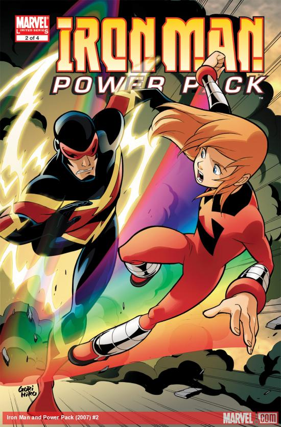 Iron Man and Power Pack (2007) #2