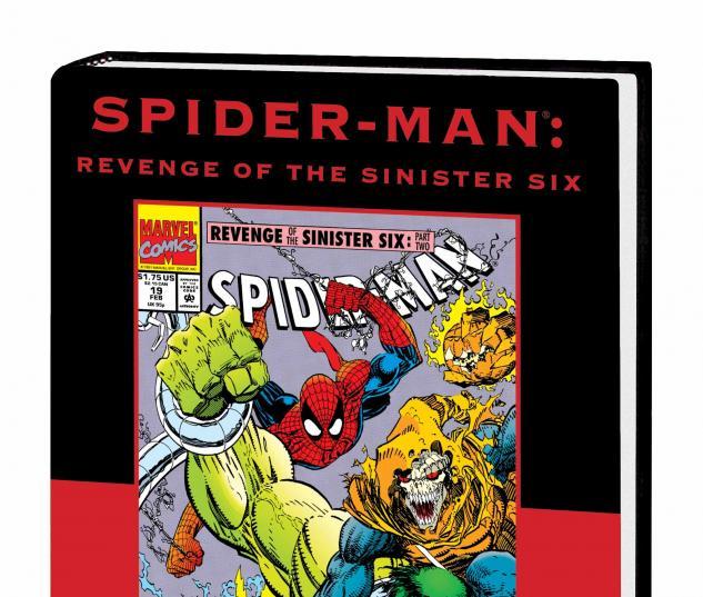 SPIDER-MAN: REVENGE OF THE SINISTER SIX PREMIERE HC VARIANT (DM ONLY)