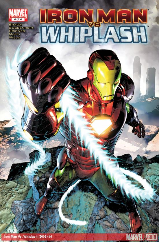 Iron Man Vs. Whiplash (2009) #4