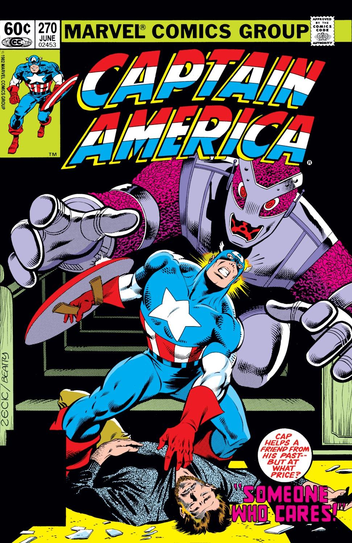 Captain America (1968) #270