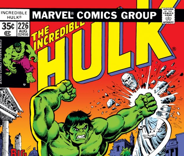 Incredible Hulk (1962) #226 Cover