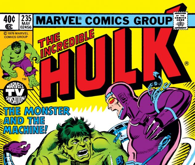 Incredible Hulk (1962) #235 Cover