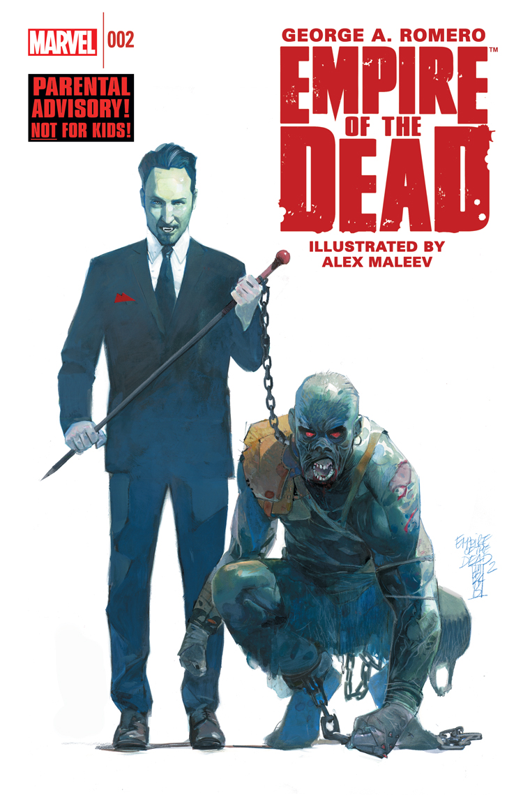 George Romero's Empire of the Dead: Act One (2014) #2