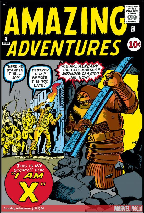Amazing Adventures (1961) #4