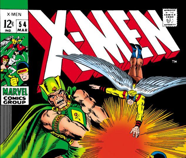 Uncanny X-Men (1963) #54 Cover