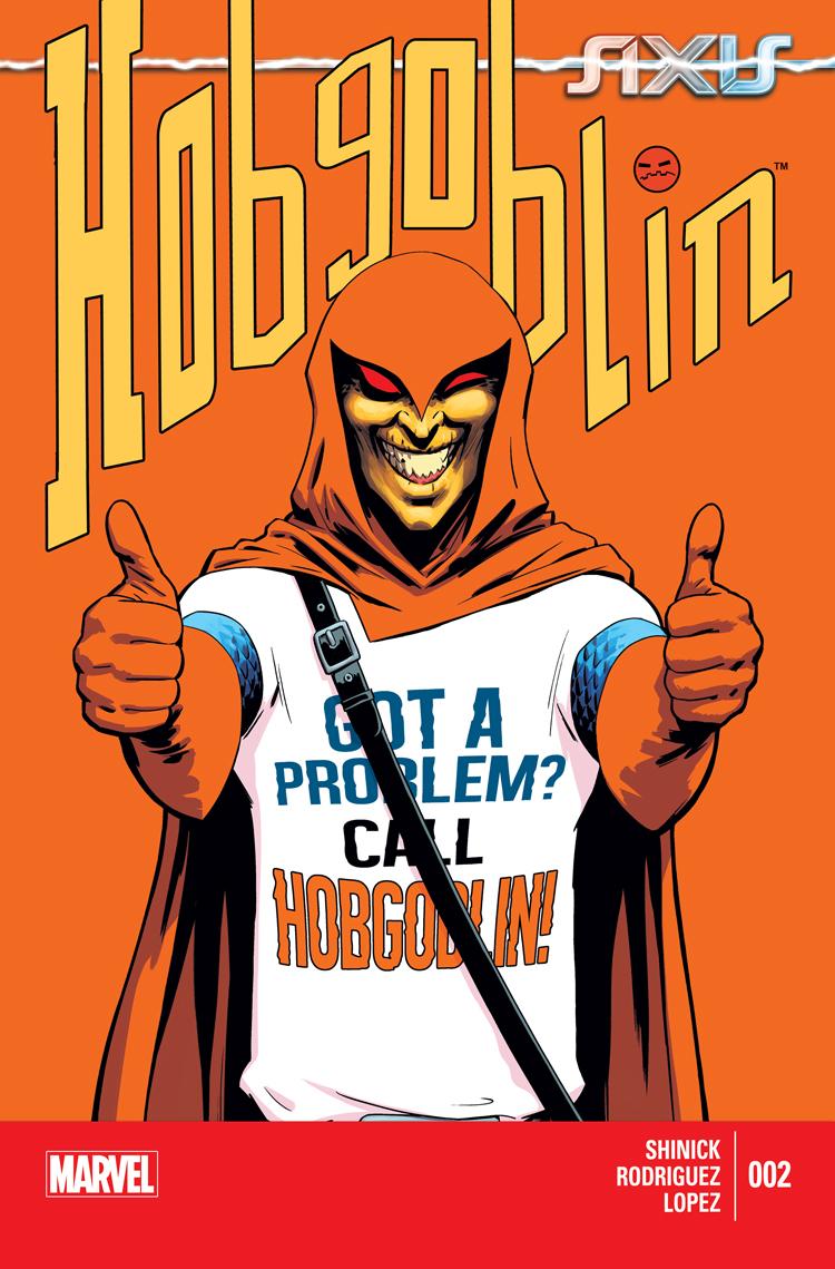 Axis: Hobgoblin (2014) #2
