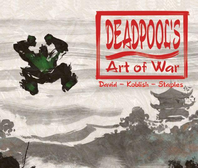 DEADPOOL'S ART OF WAR 3 (WITH DIGITAL CODE)