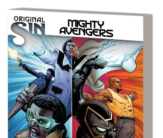 MIGHTY AVENGERS VOL. 3: ORIGINAL SIN - NOT YOUR FATHER'S AVENGERS TPB