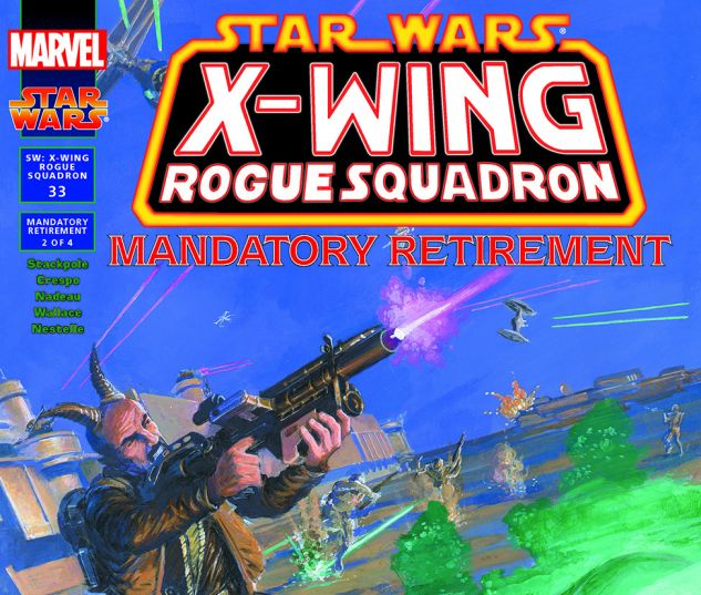 Star Wars: X-Wing Rogue Squadron (1995) #33