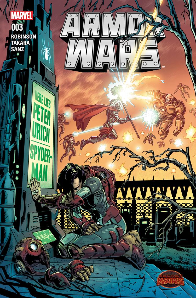 Armor Wars (2015) #3