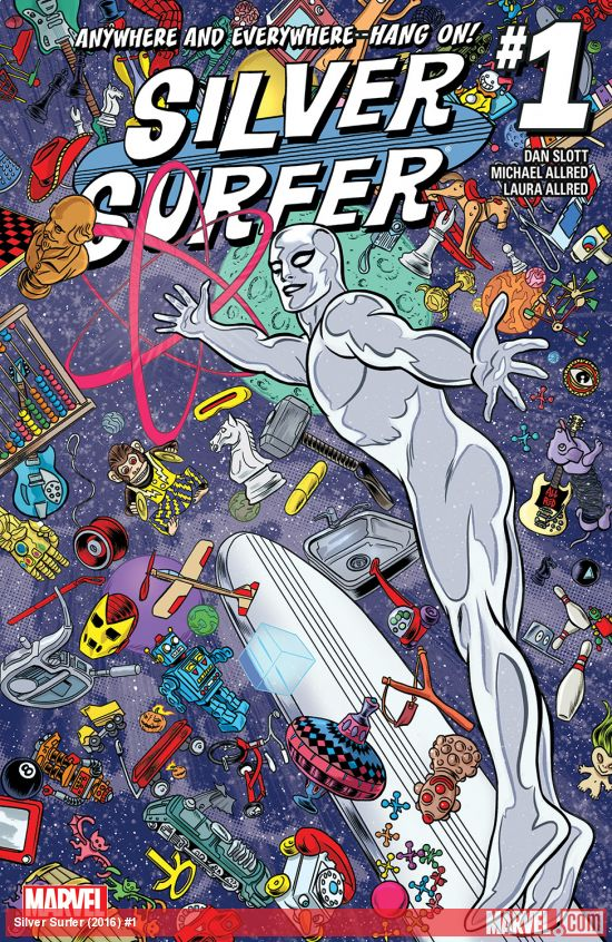 Silver Surfer (2016) #1