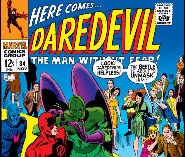 DAREDEVIL (1964) #34 Cover