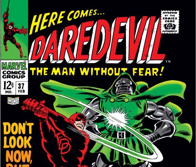 DAREDEVIL (1964) #37 Cover