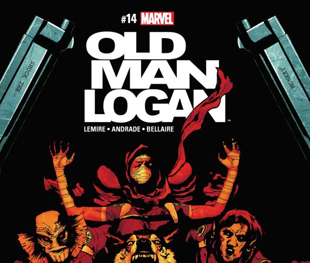 cover from Old Man Logan (2015) #14