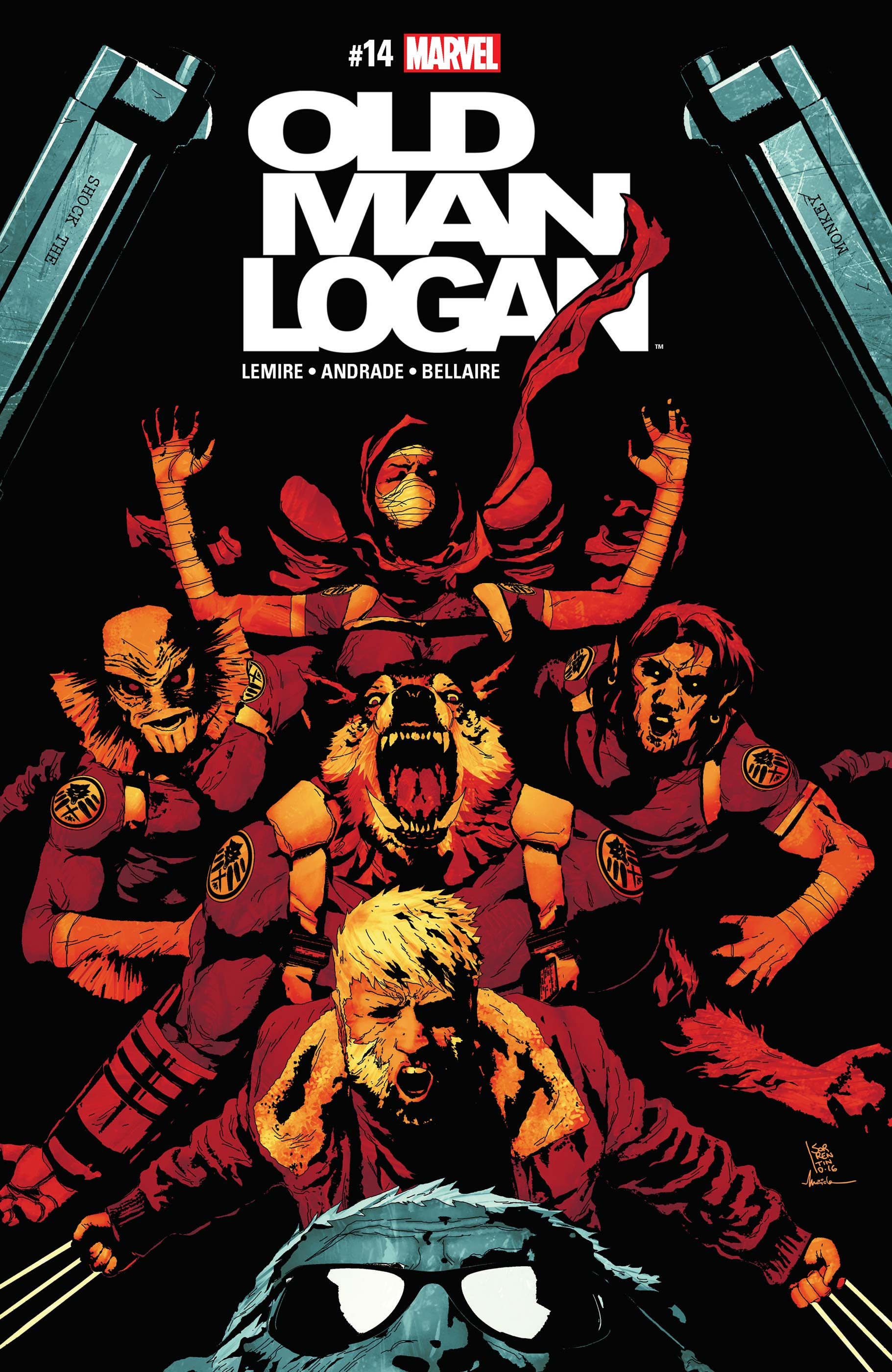 Old Man Logan (2016) #14