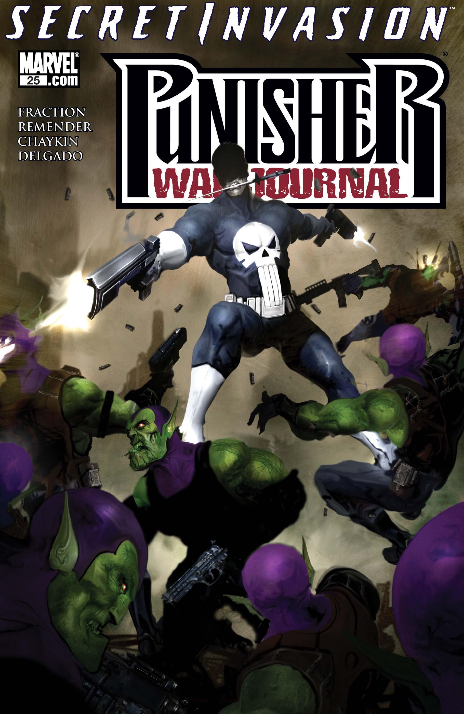 Punisher War Journal (2006) #25