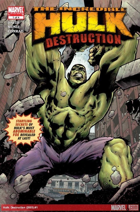 Hulk: Destruction (2005) #1