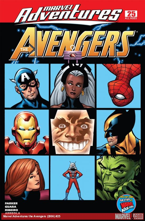 Marvel Adventures the Avengers (2006) #25