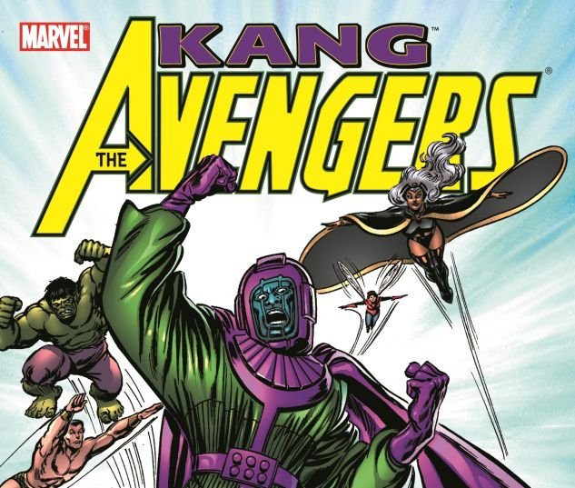 cover to Avengers: Kang Time and Time Again (2005)