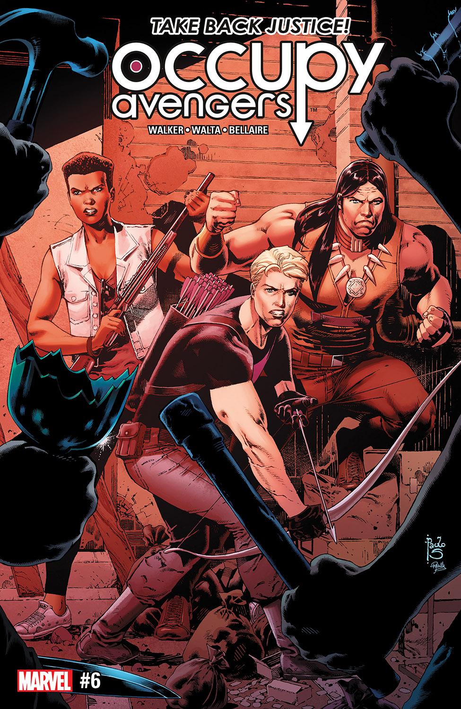 Occupy Avengers (2016) #6