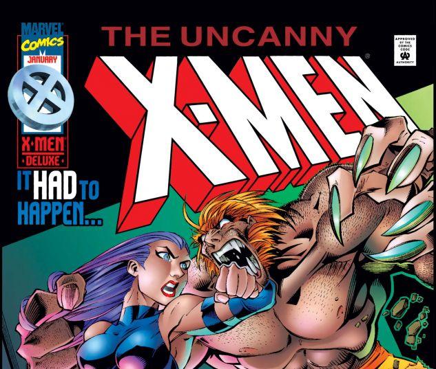 UNCANNY X-MEN (1963) #328
