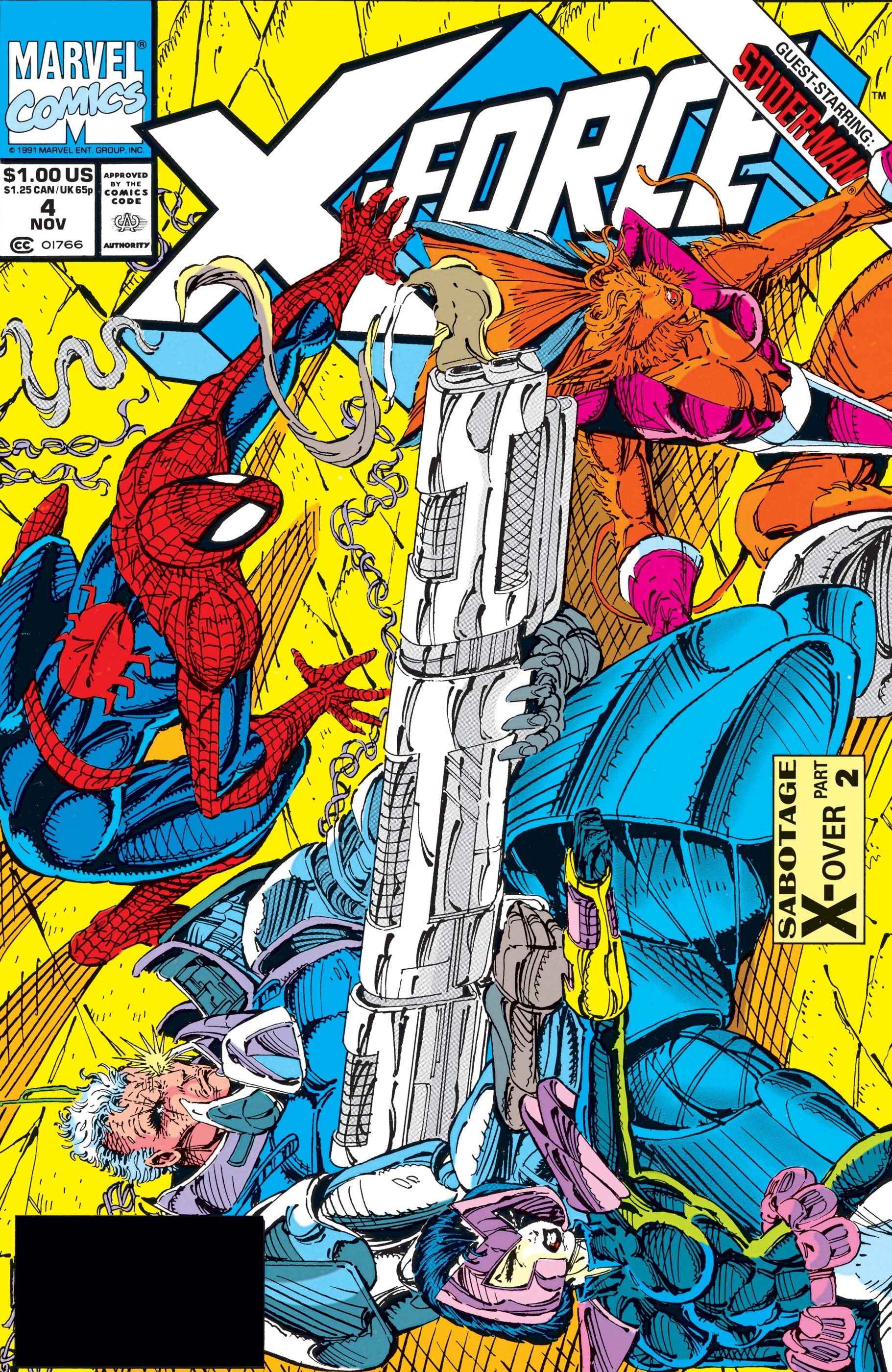 X-Force (1991) #4