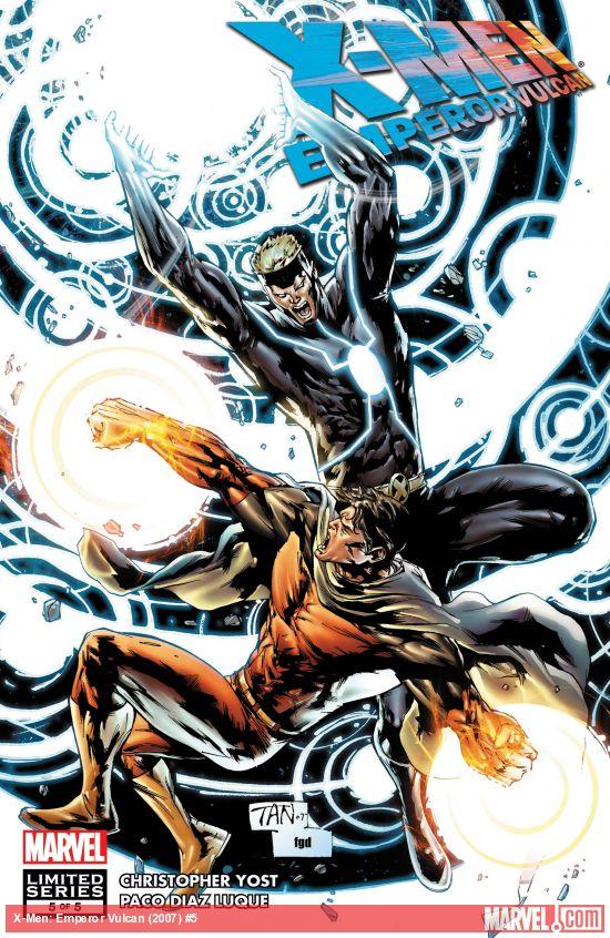 X-Men: Emperor Vulcan (2007) #5