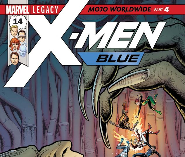 Cover for X-MEN: BLUE 14