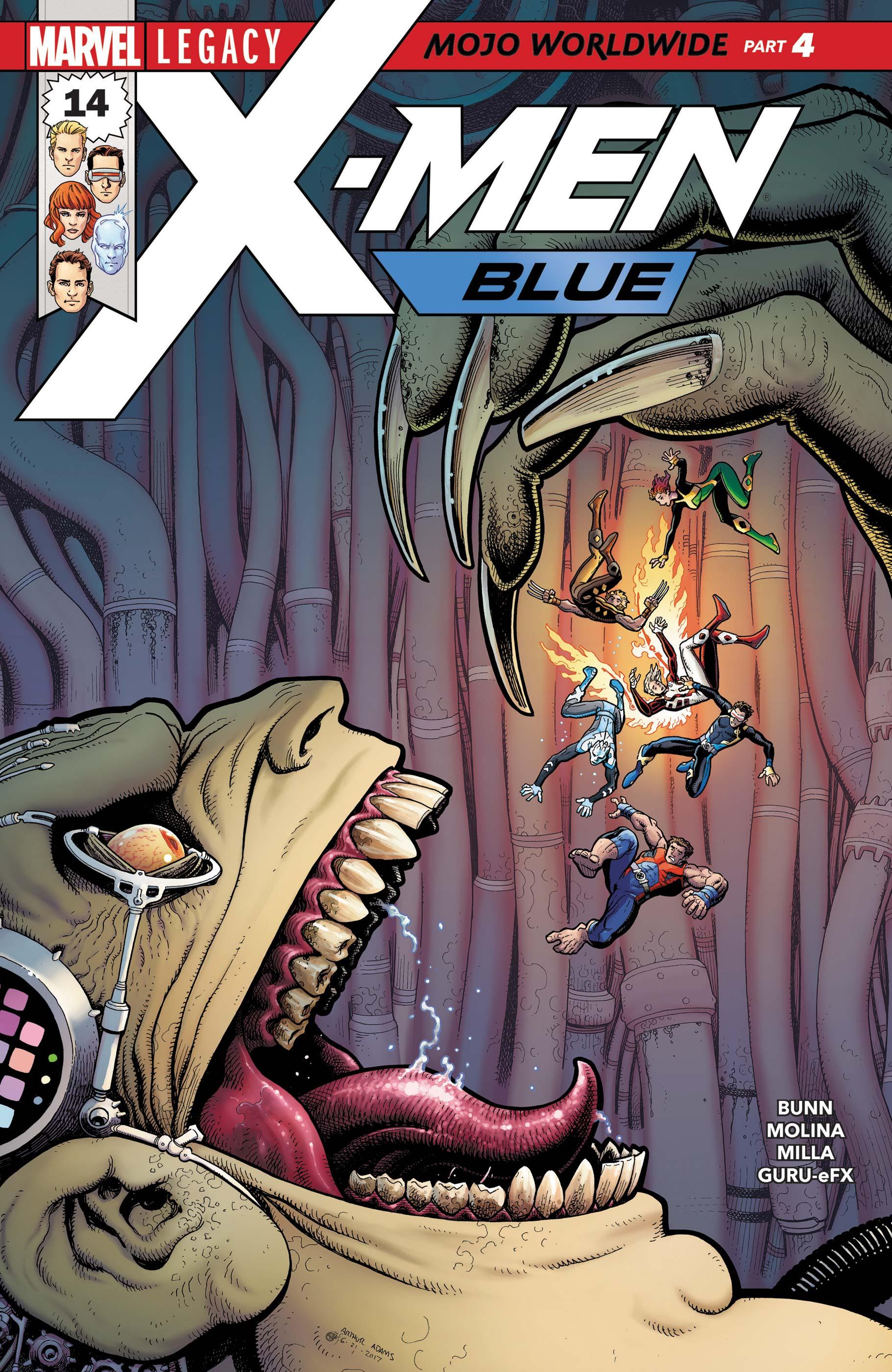 X-Men: Blue (2017) #14