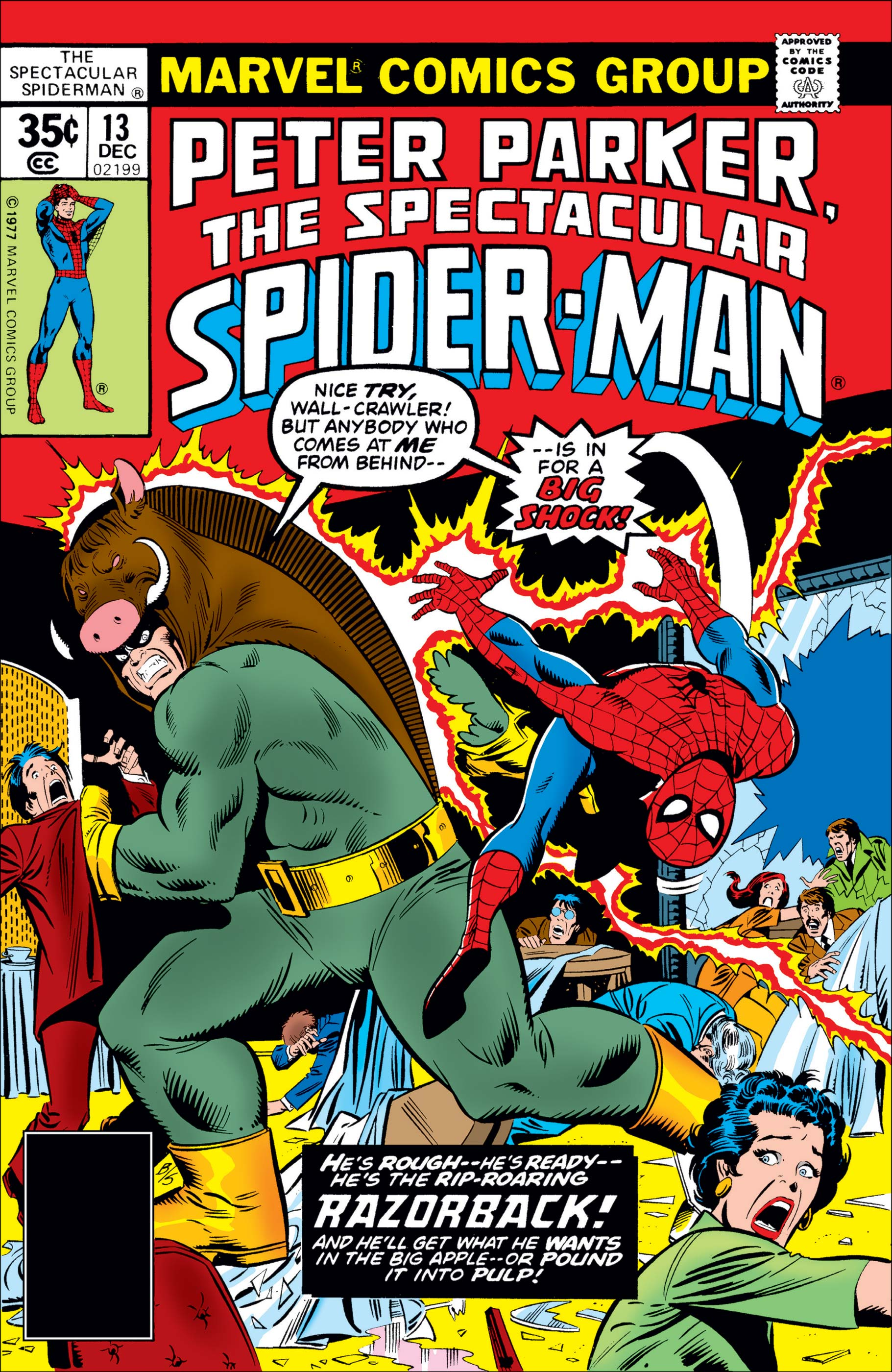 Peter Parker, the Spectacular Spider-Man (1976) #13
