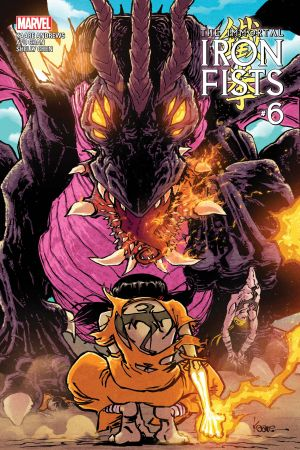 Immortal Iron Fists (2017) #6
