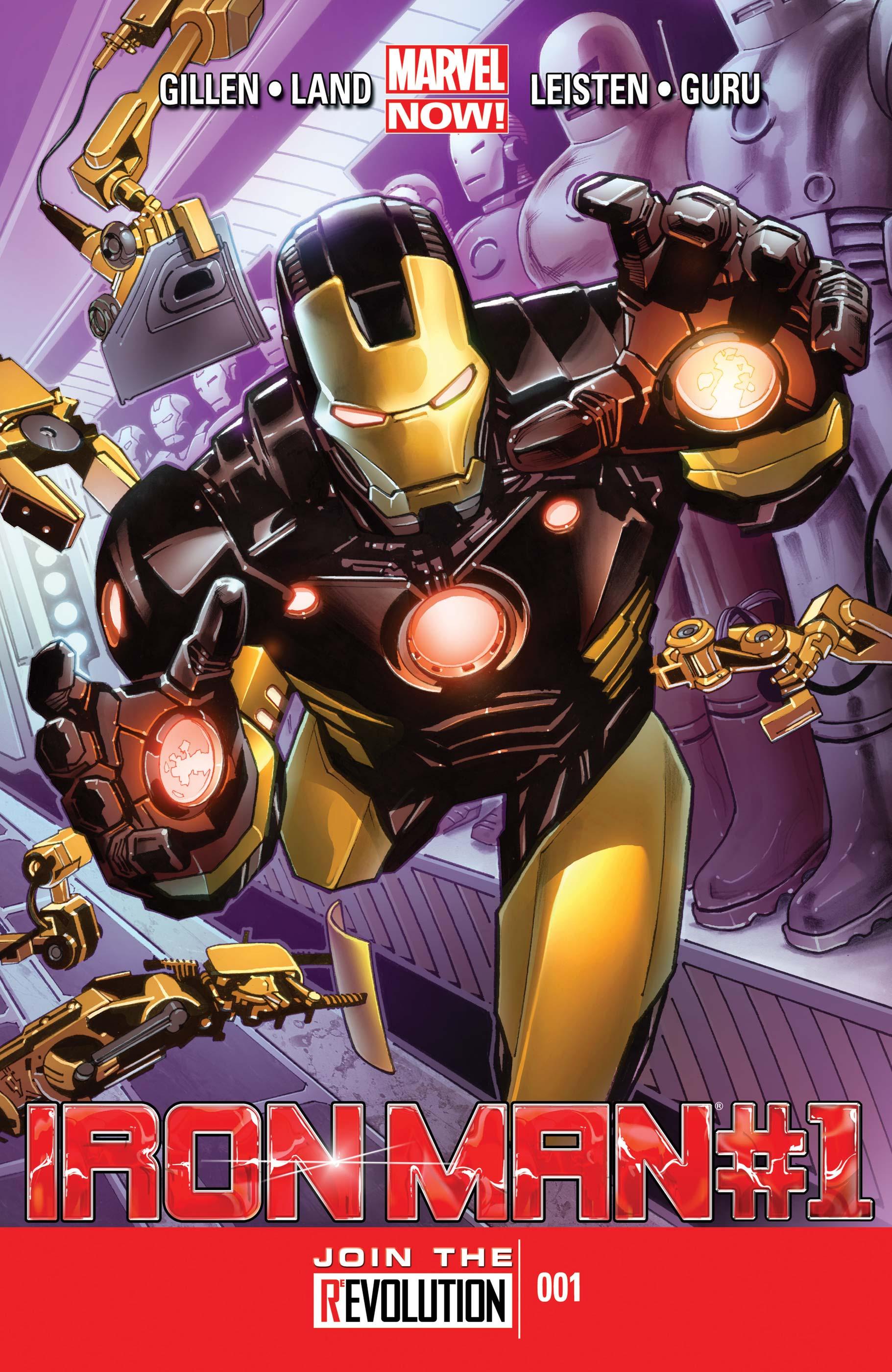 Iron Man (2012) #1