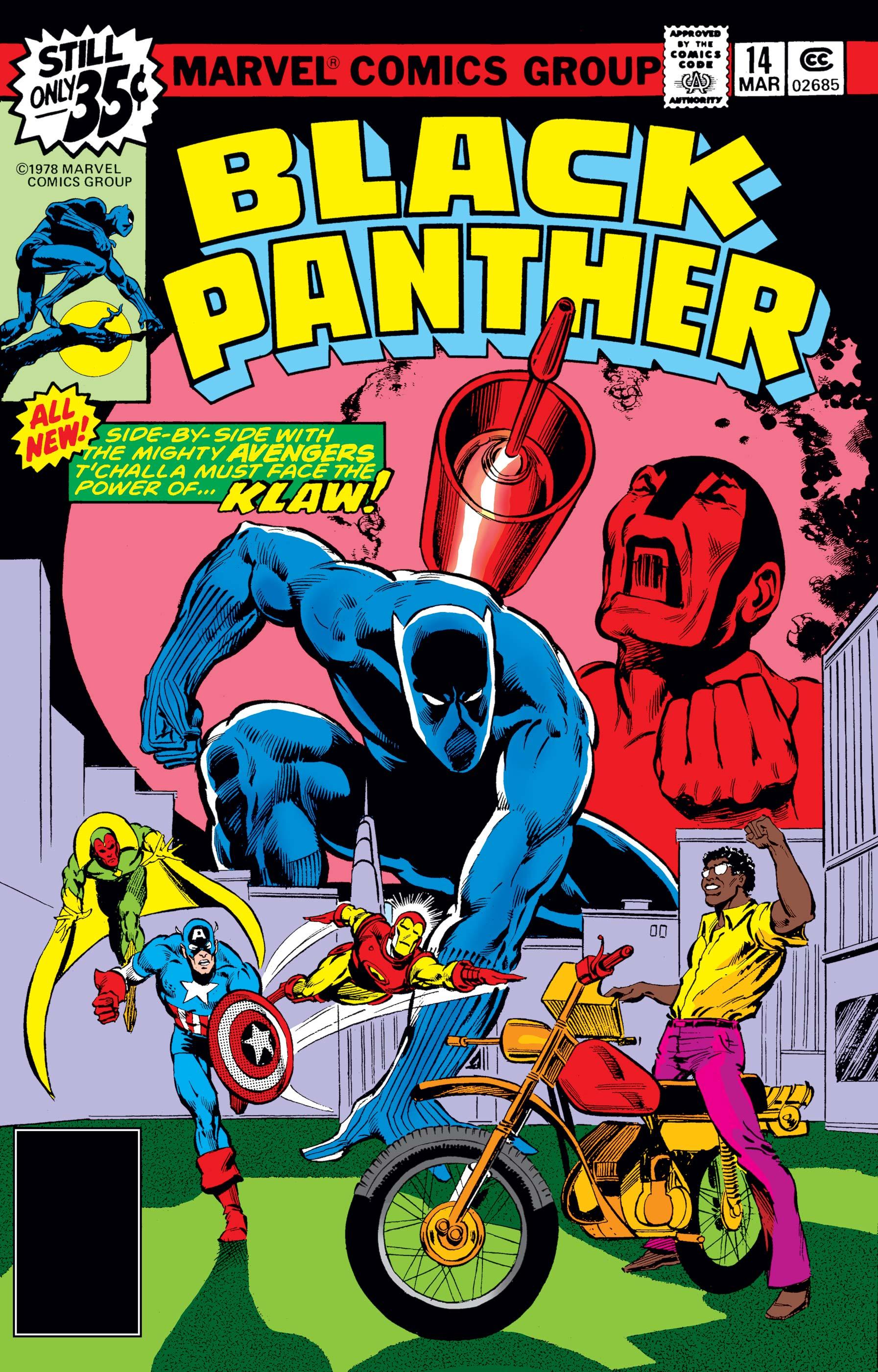Black Panther (1977) #14