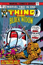 Marvel Two-in-One (1974) #10 cover