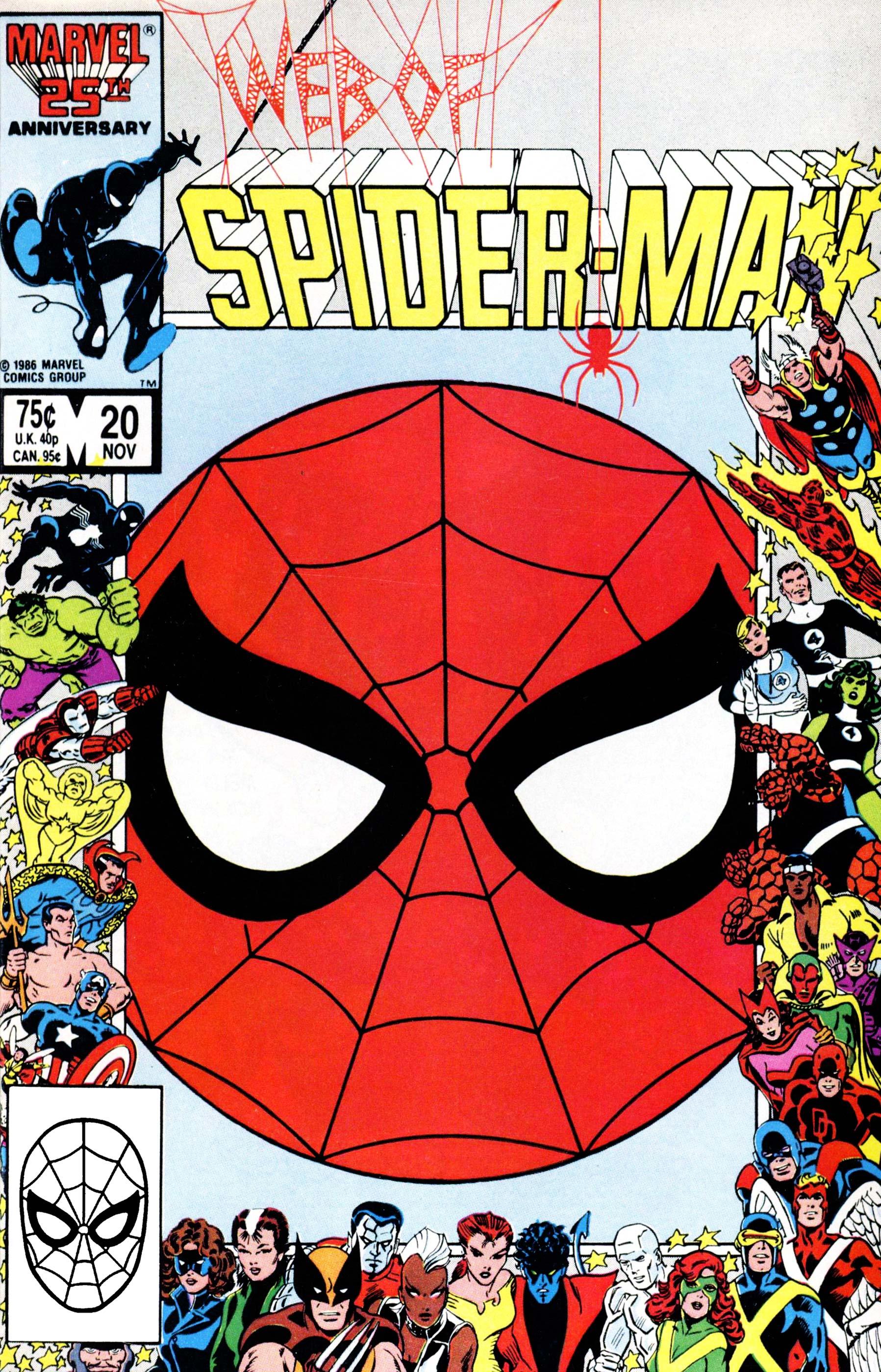 Web of Spider-Man (1985) #20