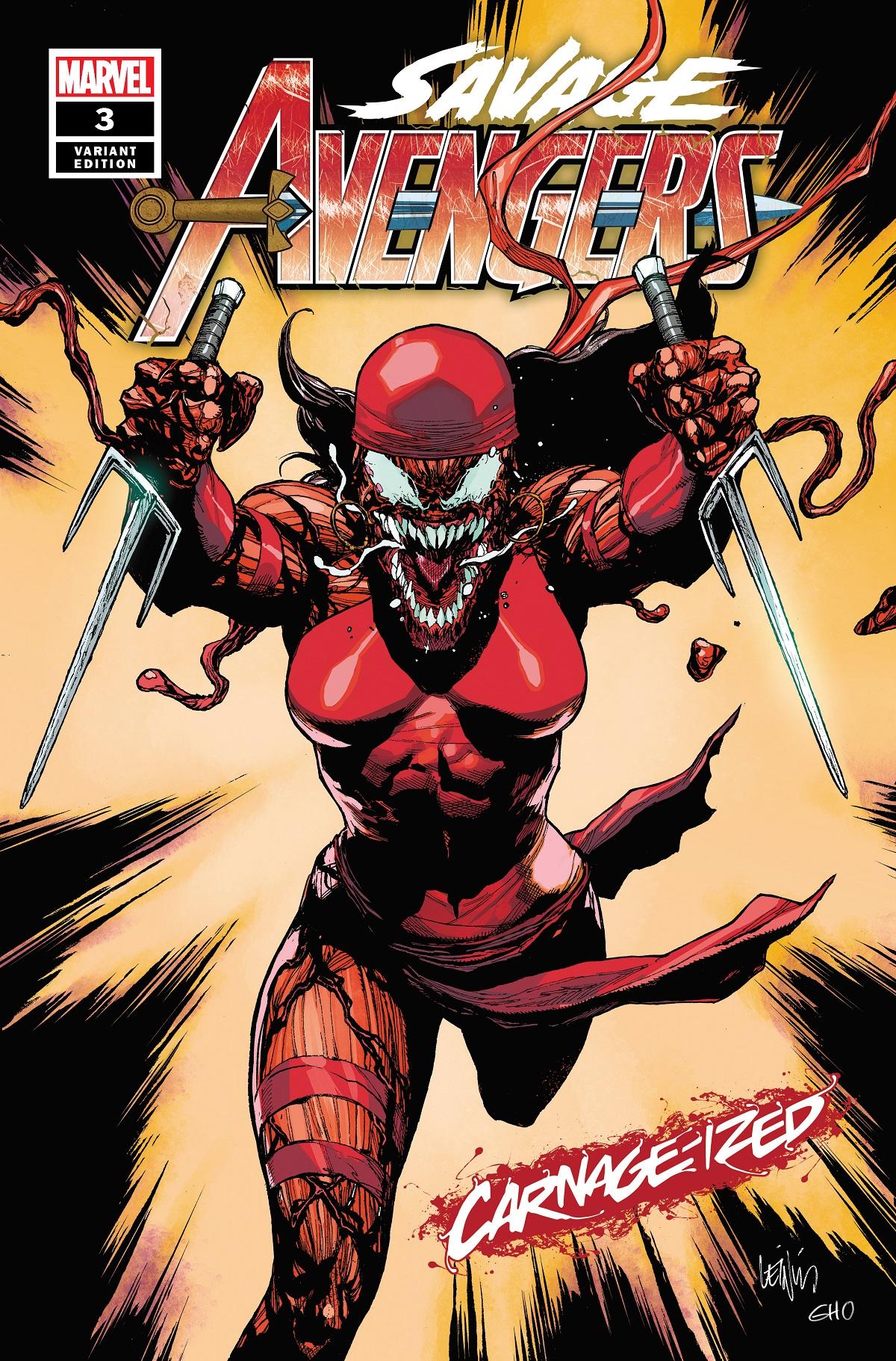 Savage Avengers (2019) #3 (Variant)