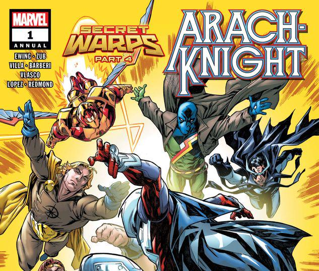 SECRET WARPS: ARACHKNIGHT ANNUAL 1 #1