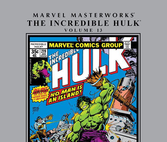 MARVEL MASTERWORKS: THE INCREDIBLE HULK VOL. 13 HC #13