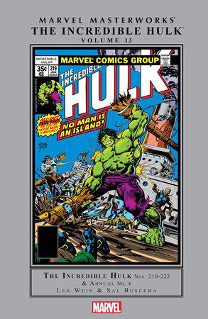 Marvel Masterworks: The Incredible Hulk Vol. 13 (Hardcover)