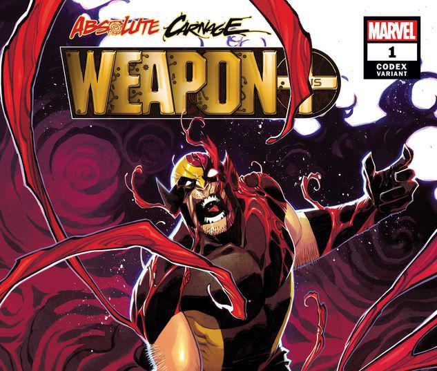 ABSOLUTE CARNAGE: WEAPON PLUS 1 SCALERA CODEX VARIANT #1