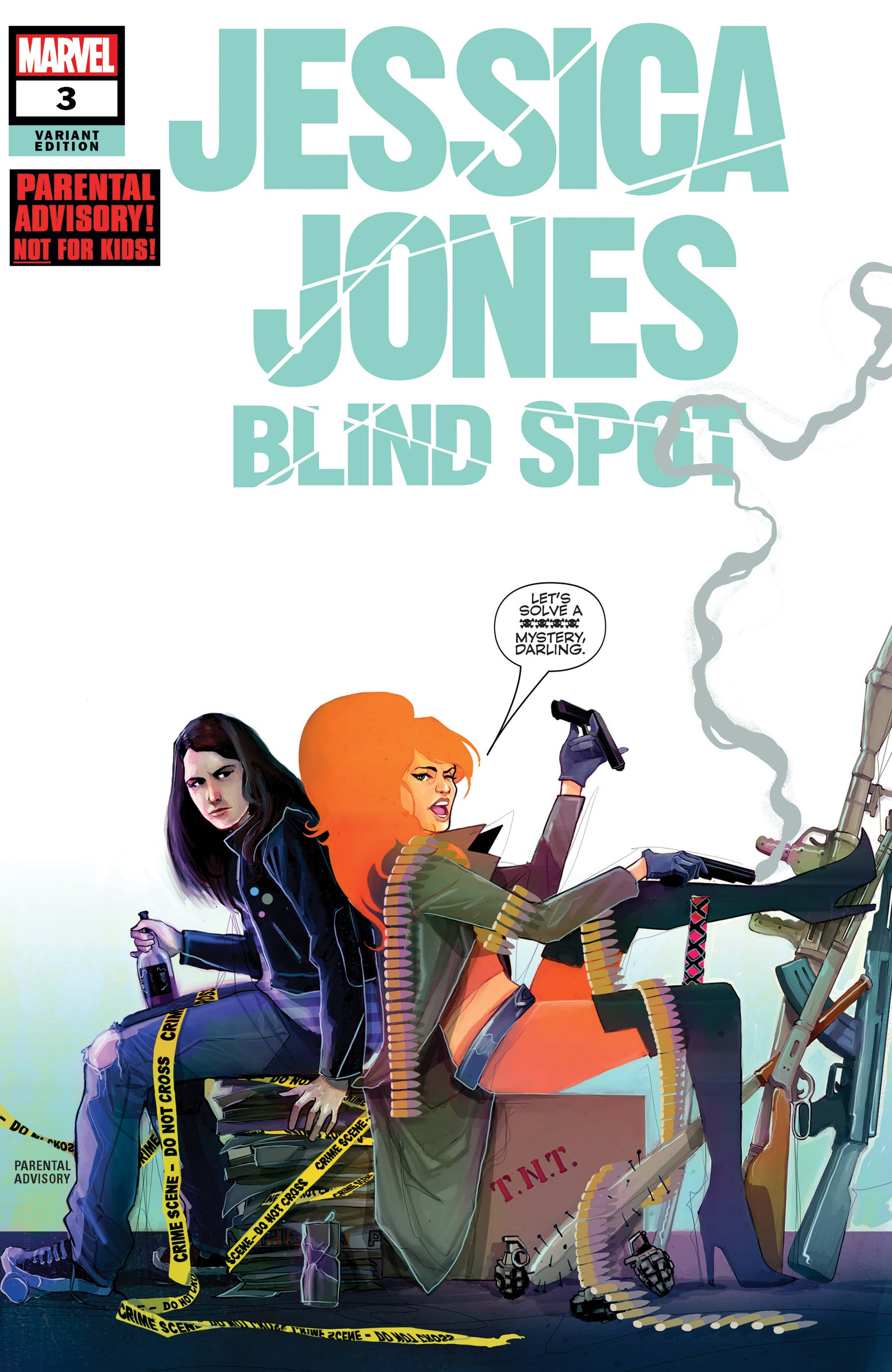 Jessica Jones: Blind Spot (2020) #3 (Variant)