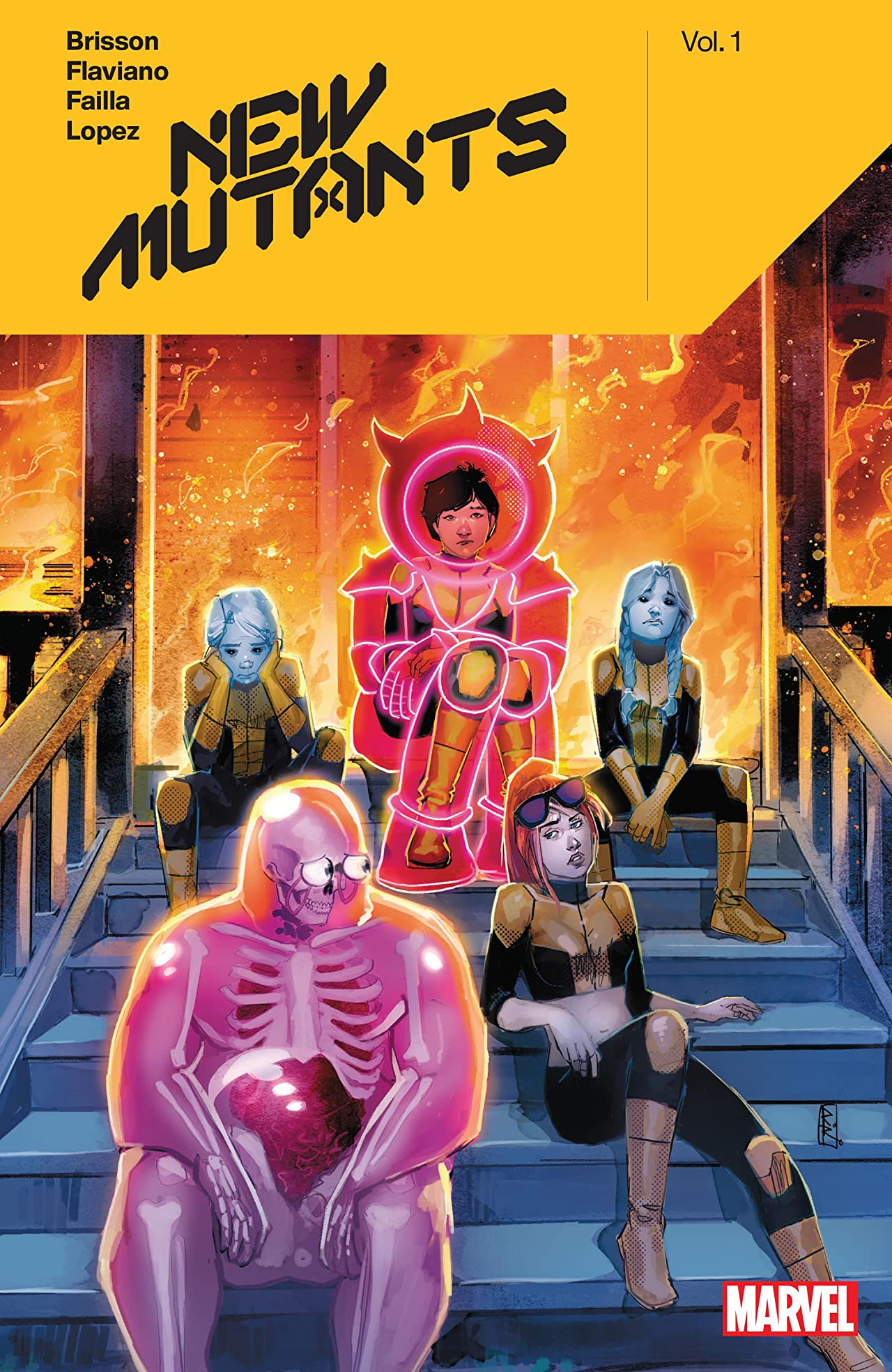 New Mutants by Ed Brisson Vol. 1 (Trade Paperback)