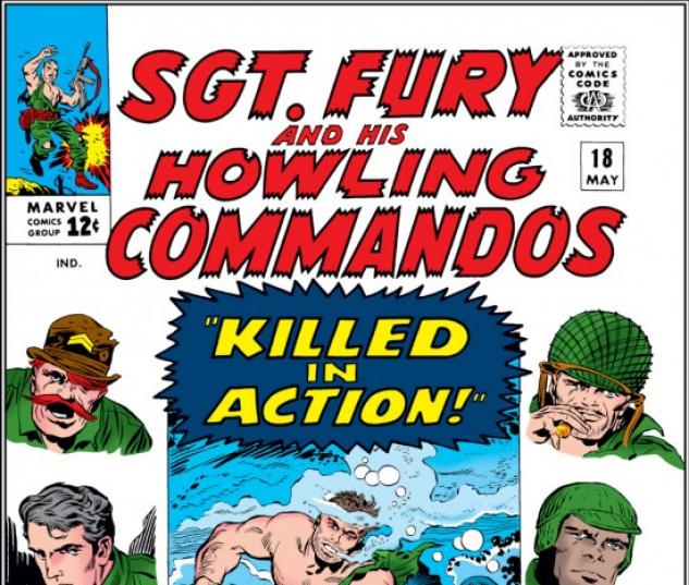 Sgt. Fury and His Howling Commandos #18