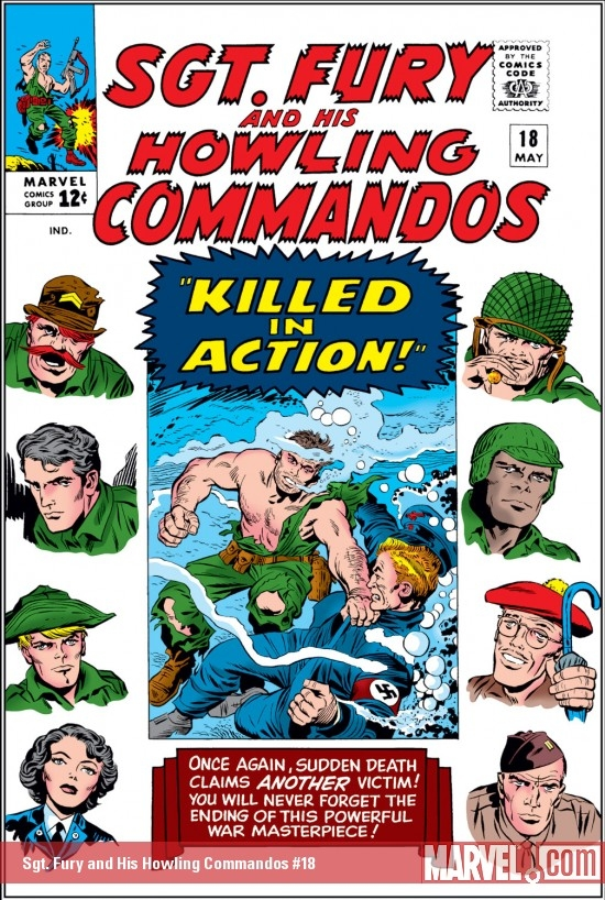Sgt. Fury and His Howling Commandos (1963) #18