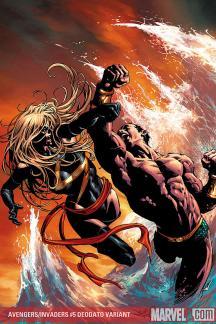 Avengers/Invaders (2008) #5 (DEODATO VARIANT)